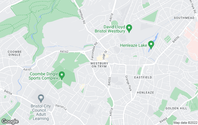 Map for Connells Lettings, Westbury-On-Trym