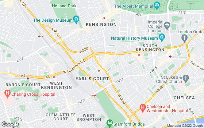 Map for Dexters, Earls Court