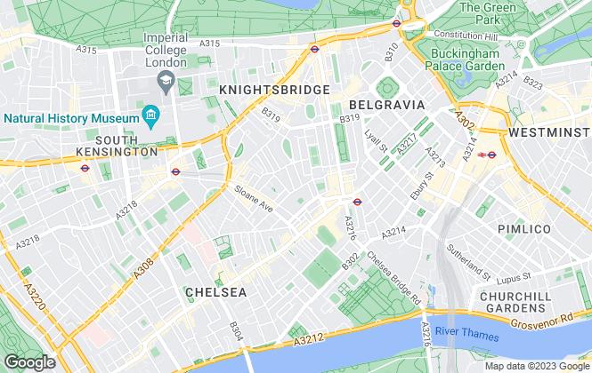 Map for Jackson-Stops, Chelsea