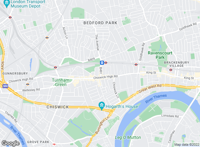 Map for Faron Sutaria Lettings, Chiswick