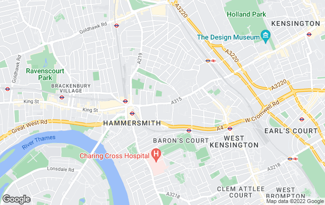 Map for Latymers Estate Agents, London