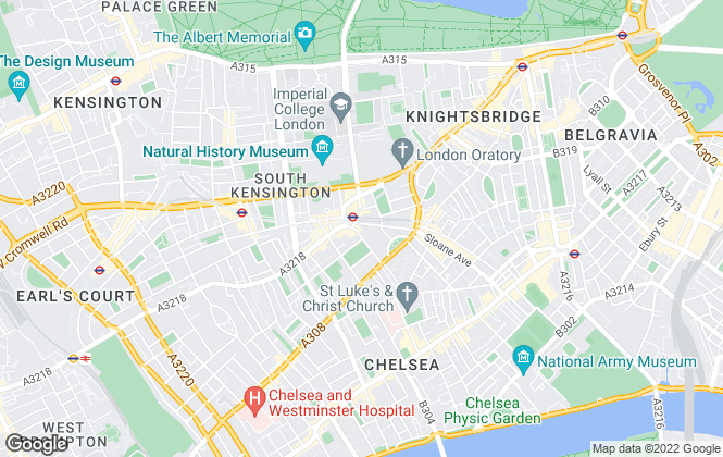 Map for Malverns Estate Agents, London