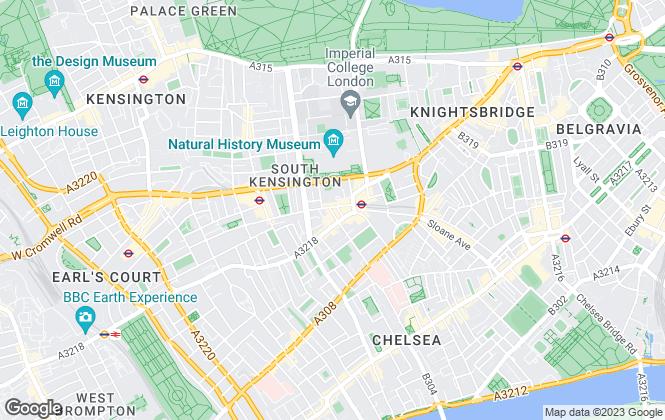 Map for Douglas & Gordon, South Kensington
