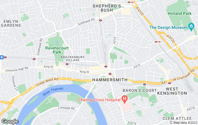 Map for London Property Zone, London
