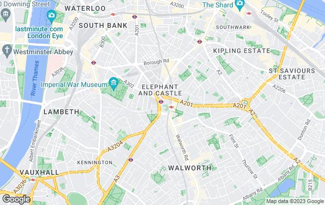 Map for FairView Property Ltd , Elephant & Castle