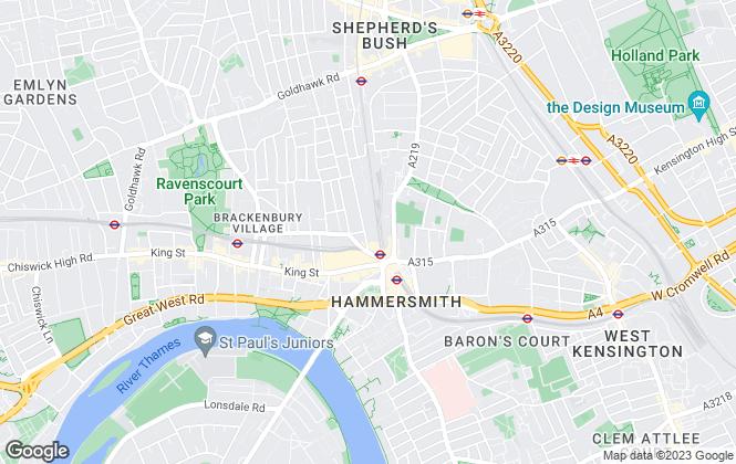 Map for Cote & Castle, London