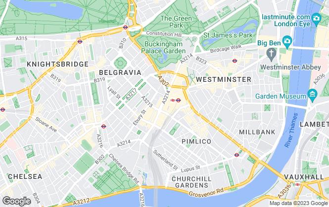 Map for Wigmore Jones, London
