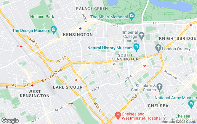 Map for Cromwell Estate Agency, London