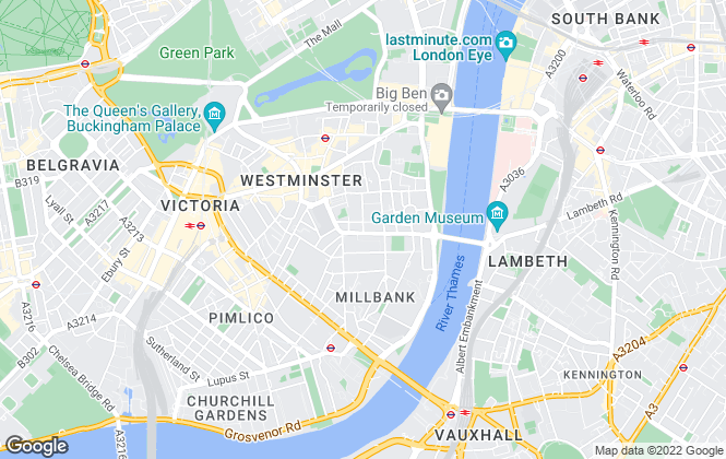Map for Life Residential, Westminster - sales