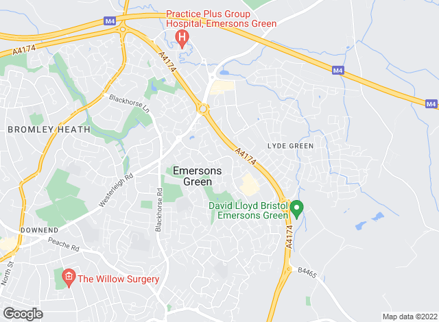 Map for Lets Move UK - Estate Agents, Letting & Management, Bristol
