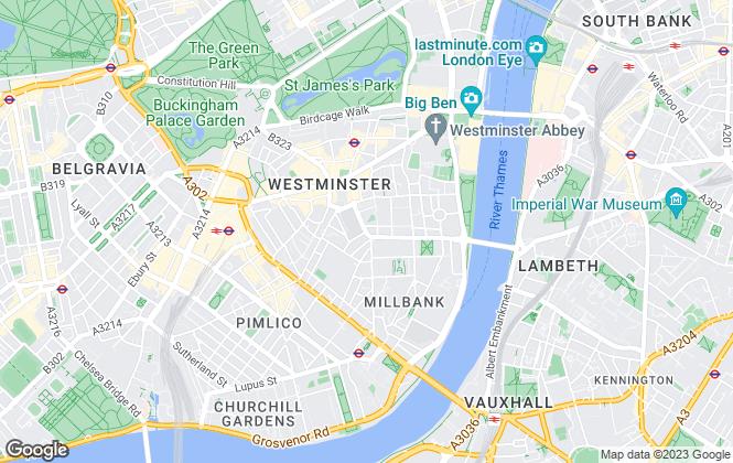 Map for Bensons , London