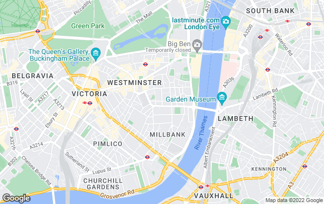 Map for Life Residential, Westminster- lettings