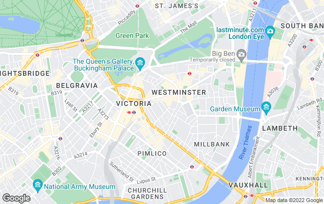 Map for Blue Alpine , London