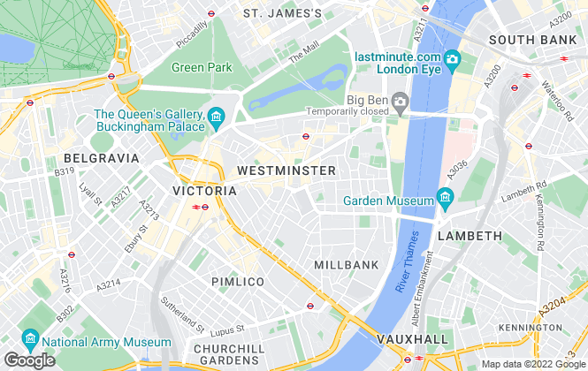 Map for Dexters, Westminster