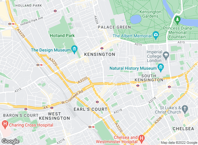 Map for Mountgrange Heritage, Kensington