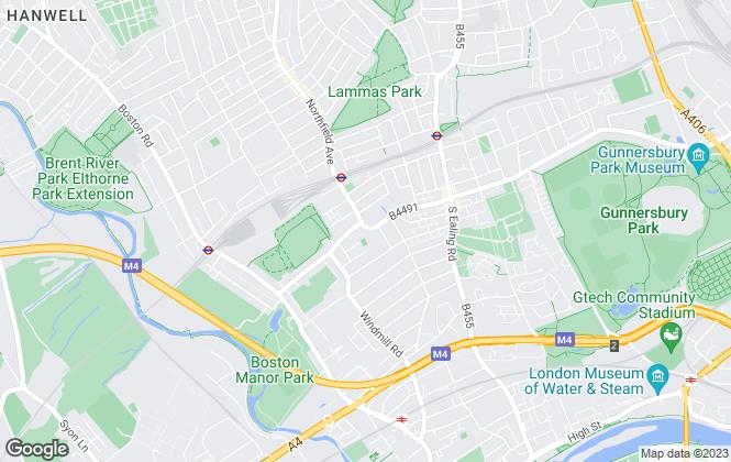 Map for Blue Lion Estates Ltd, London