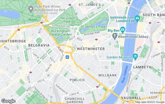 Map for Keller Williams Prime Properties, London