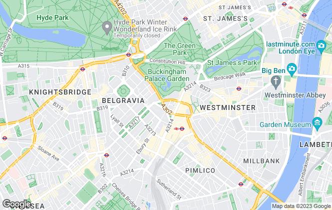 Map for Barnes International Realty, London