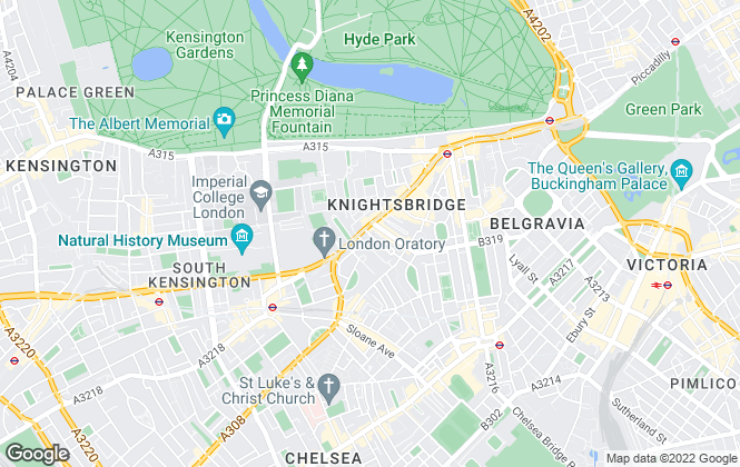 Map for SW Residential , London
