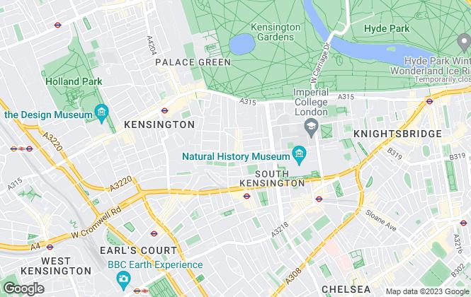Map for Dominic London, South Kensington