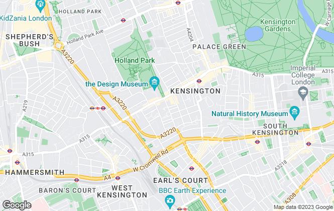 Map for Rickman Properties, London