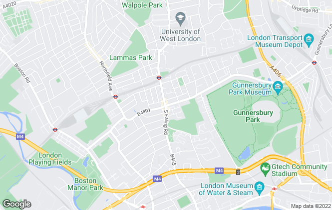Map for DALINGTON London Estate Agents & Mortgage Brokers, Ealing
