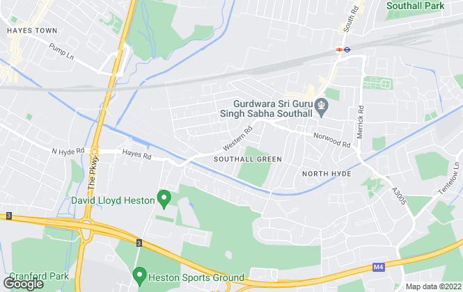 Map for Ashford Finance & Property Services, Southall
