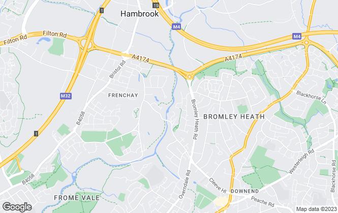 Map for Stuart Verth, Bristol