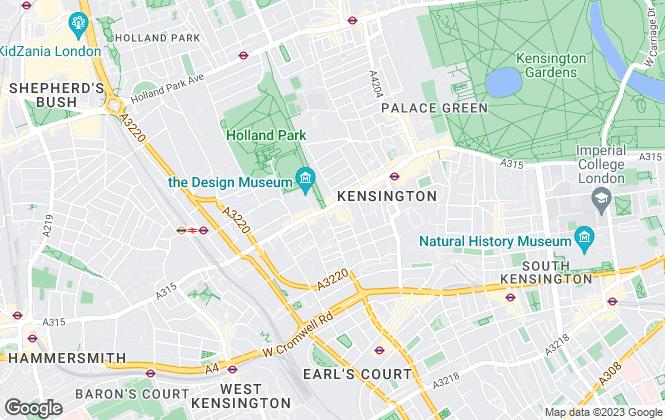 Map for Kalfus Properties, London