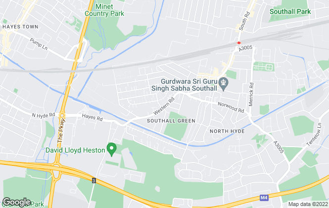 Map for Brothers, Southall