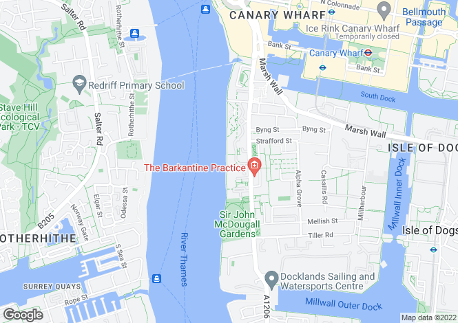 Map for Naxos Building, Hutchings Street, Canary Wharf, Docklands, London, E14