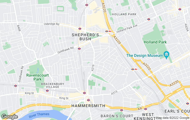 Map for Townends, Brook Green - Lettings