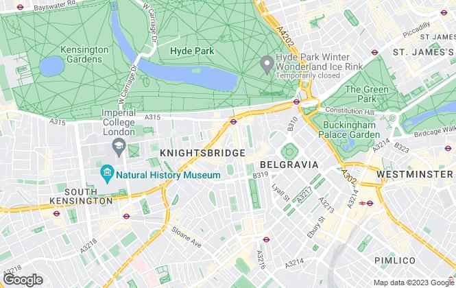 Map for Walton Estates, Powered by Keller Williams, Knightsbridge