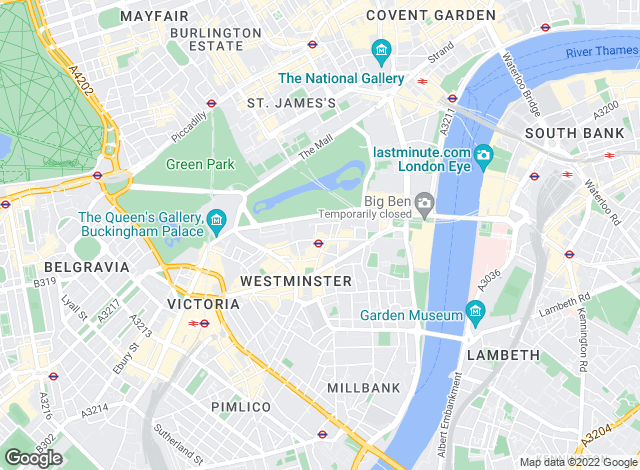 Map for Icon Residential, London - Sales