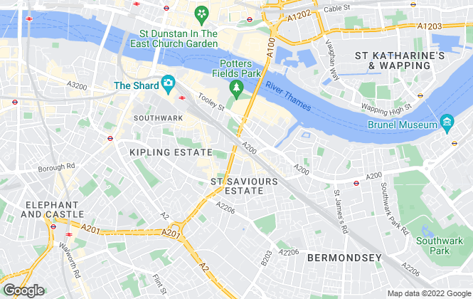Map for Regent Letting and Property Management, Tower Bridge