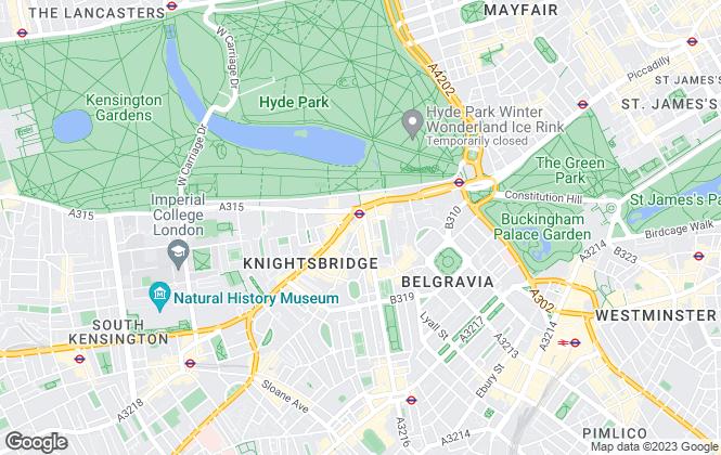 Map for Marler & Marler, London