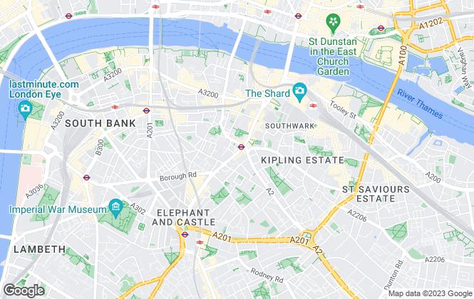Map for Leonard Leese, London