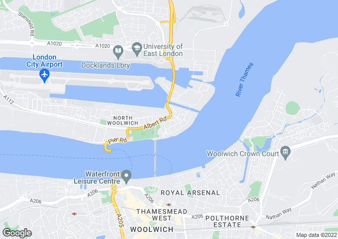 Map for Grimsby Grove, North Woolwich, London, E16