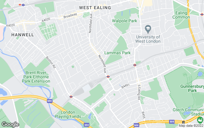 Map for Tuffin & Wren, Ealing