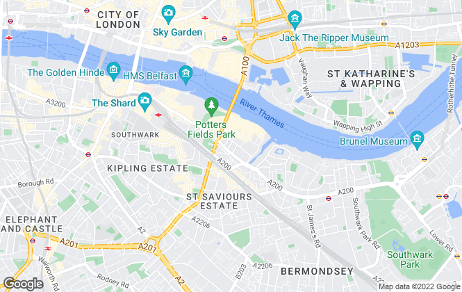 Map for Zone Residential, London - SE1