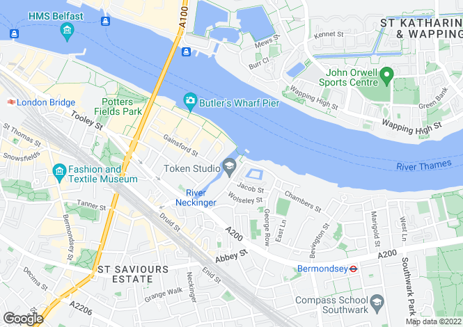 Map for New Concordia Wharf, Mill Street, London, SE1