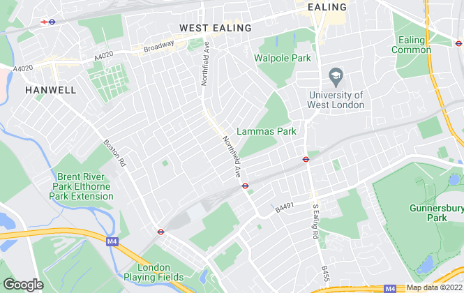 Map for Sargeants, Ealing