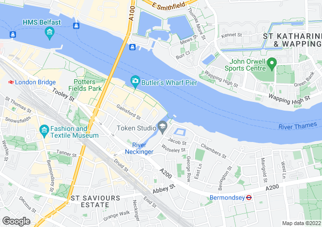 Map for Tea Trade Wharf,Shad Thames,LONDON,SE1 2AS