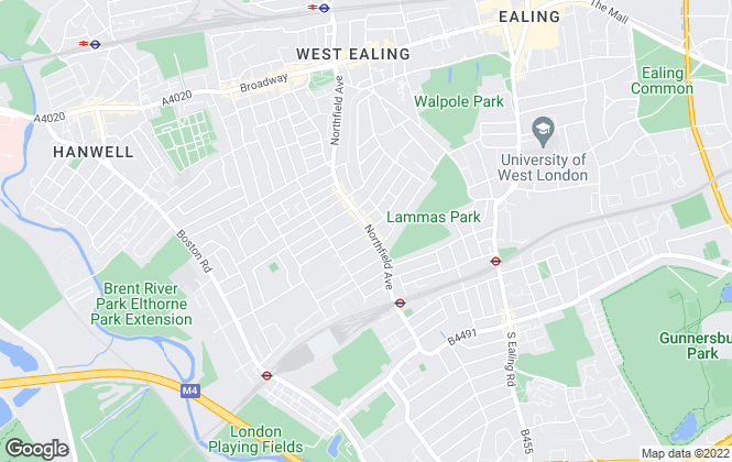Map for London Homes Residential Ltd, Ealing