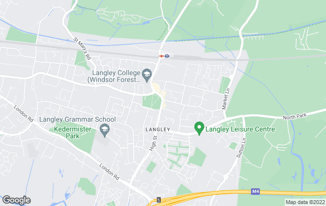 Map for The Frost Partnership, Langley