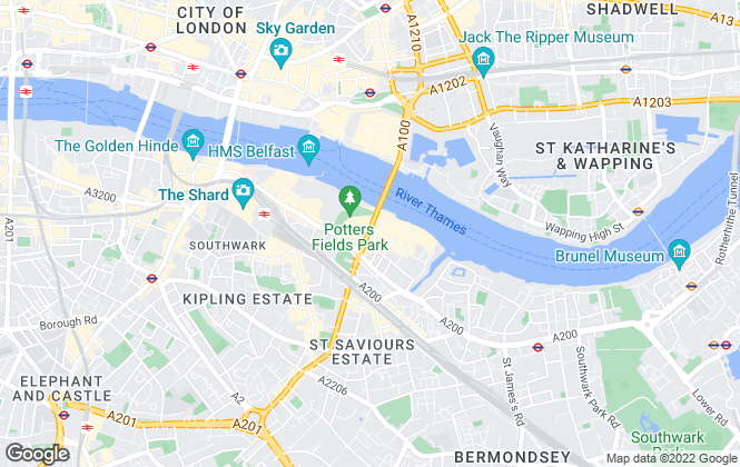 Map for Chestertons Estate Agents , Tower Bridge