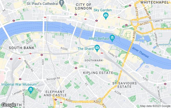 Map for Caddington Blue, Bankside