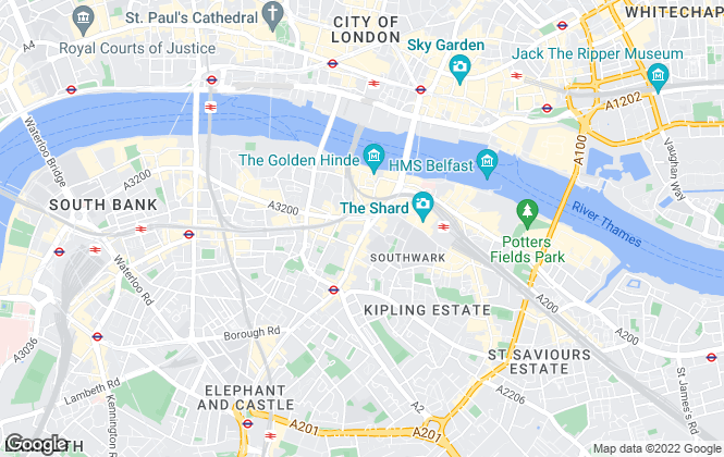 Map for Field & Sons, London Bridge