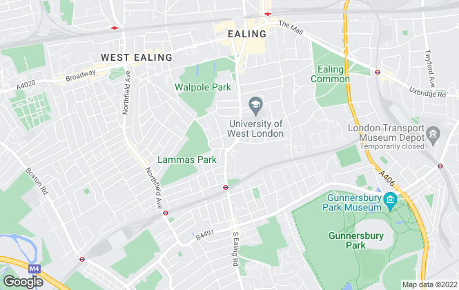Map for Kings London, Ealing
