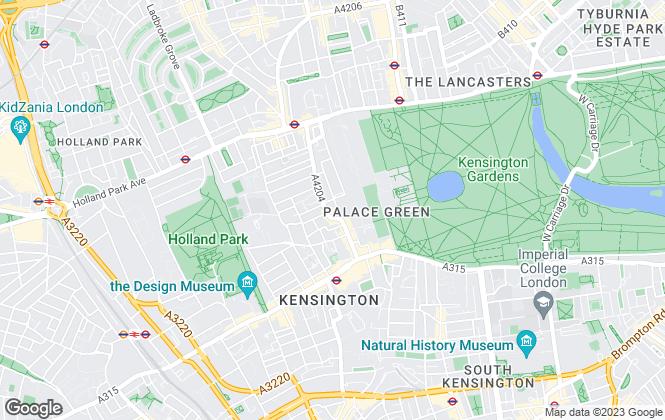 Map for Croft International, London